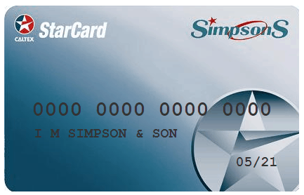 simpsons starcard image