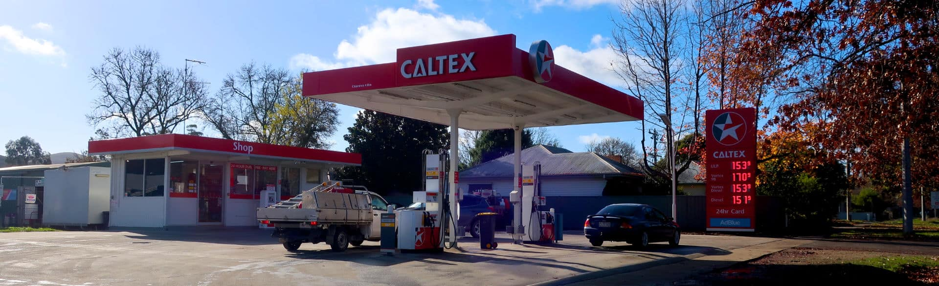 Simpsons Fuel | Caltex Alexandra | 25 Aitken St, Alexandra